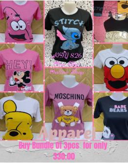 Cartoon Character Design Shirts