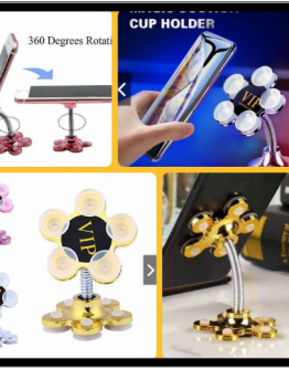 Magic Suction Mobile Holder with (VIP Logo)