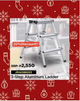 Jinmao 3-Step Aluminum Ladder
