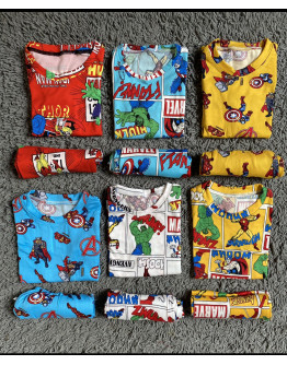 Small Kids Terno Pajamas
