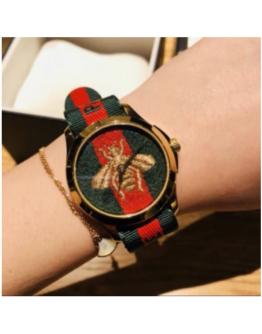 Gucci Fashion Leather Band Analog Quartz Wrist 5.0