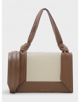 Charles & Keith Knot Canvas Bag
