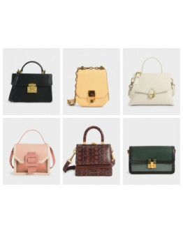 50 PCS PURE CHARLES AND KEITH BAGS