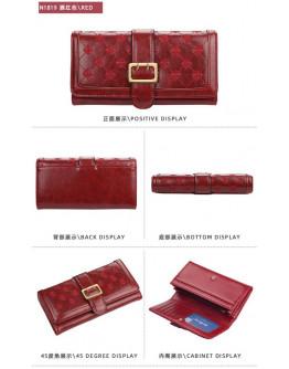 Baellery Simple Long Women Wallet Zipper Fashion Female Wallet Purse Multifunction Purse Card Holder