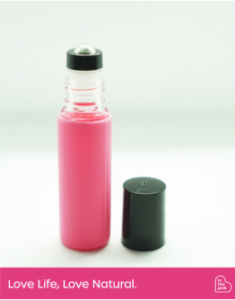 10ml Double Lid Roller Bottle with Silicone Sleeves