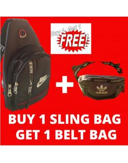 Men's Anti-Theft Bag belt Bag Sling Bag For Men Zipper Waterproof Shoulder Messenger bags 8306#