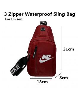 Neoshop Men's Anti-Theft Bag belt Bag Sling Bag For Men Zipper Waterproof Shoulder Messenger bags