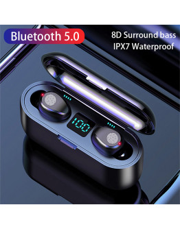3 in 1 Wireless Bluetooth Earphone