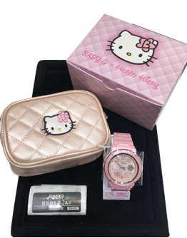 SPECIAL LIMITED EDITION : CASIO BABY G X HELLO KITTY BGA-150KT-4BJR WATCH