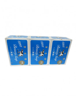 COW SOAP BLUE JAPAN (Set Of 3 )