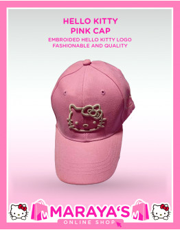 Marayas Hello Kitty Cap Light Pink