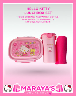 Marayas Hello Kitty Lunchbox with Tumbler