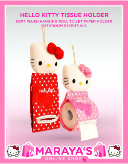 Marayas Hello Kitty Tissue Holder Pink or Red
