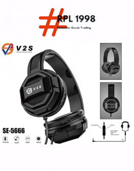 HM NEW V2S SE5666 Game Headphone Stereo Hifi Wired Headset