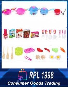 Double Kitchen Sets Toy
