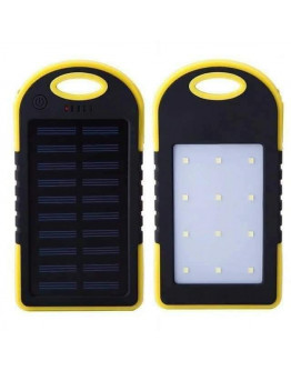 Solar Powerbank with Flash light