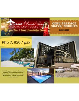 BAI HOTEL - CEBU TOUR PACKAGE 3Days/ 2Nights