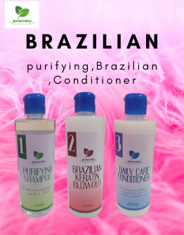 BRAZILIAN KERATIN BLOWOUT SET 300ml/bottle