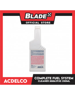 Blade ACDelco Complete Fuel System Cleaner 350ml