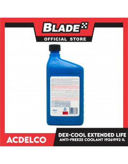 Blade ACDelco DEX-COOL Extendede Life Antifreeze/Coolant Concentrate 1Liter