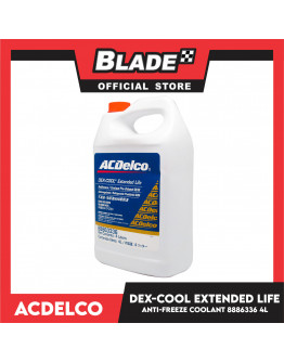 Blade ACDelco Dex-Cool Extended Life Antifreeze/Coolant Pre-Diluted 50/50 4Liters