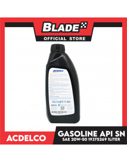 ACDelco High Performance Engine Oil Gasoline API SN SAE 20W-50 Select 1Liter