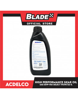 ACDelco High Performance Gear Oil API Gl-5 SAE 85W-140 Select  1 Liter