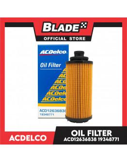 ACDelco Oil Filter ACD12636838 for Chev Trailblazer and Chev Colorado