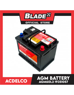 ACDelco Professional AGM Sealed Maintenance Free Premium AGM Battery AGM60L2 / DIN55H