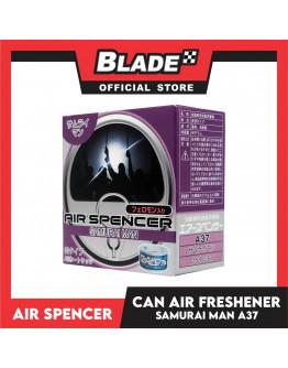 Air Spencer Car Air Freshener Can Samurai Man A37