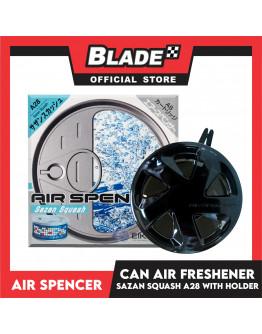 Air Spencer Car Air Freshener Can Sazan Squash A28 with Holder