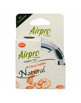 Airpro Air Freshener Organic Can Citrus Fusion Natural 42g