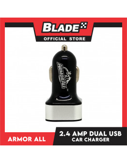 Armor All AAC8-0101 2.4AMP Micro USB Car Charger (Black)