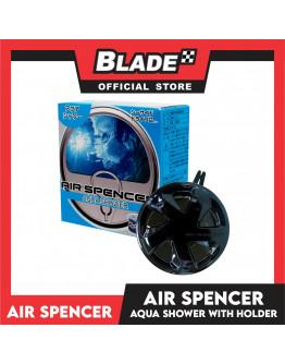 Air Spencer Car Air Freshener Can Aqua Shower with holder