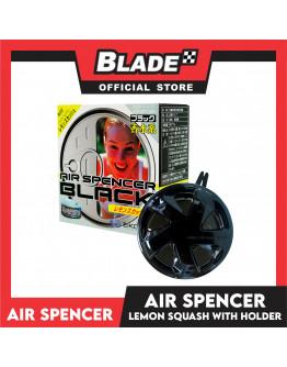 Air Spencer Car Air Freshener Can Lemon/Squash with holder