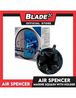 Air Spencer Car Air Freshener Can Marine Squash with Holder