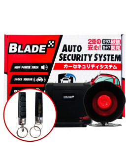 Blade Car Alarm Auto Security System FLB-02 NW