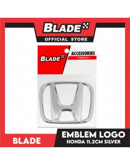 Blade Emblem Honda Logo Chrome 11.2cm with 3M adhesive ready
