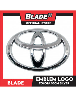 Blade Emblem Toyota Logo Small 10cm with 3M adhesive ready