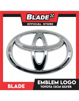 Blade Emblem Toyota Logo Medium 13cm with 3M adhesive ready