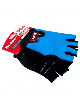 Blade Cycling Gloves Half Finger (Blue)