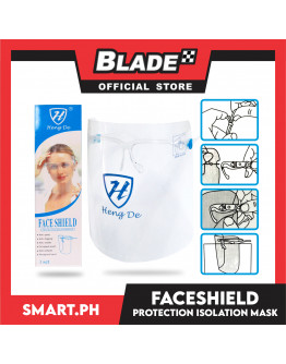 Blade Face Shield + Glasses