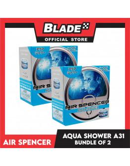 Air Spencer Car Air Freshener Can Aqua Shower