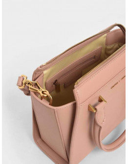 Charles & Keith Structured Trapeze Bag