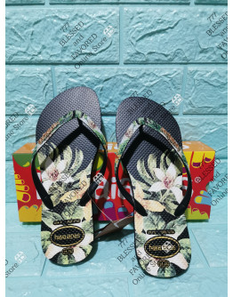 HAVAIANAS SLIPPERS; FLORAL