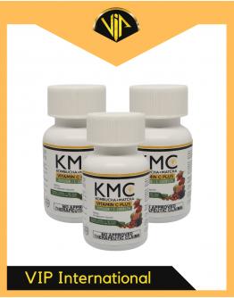 VIP LIFEFORCE KMC KOMBUCHA + MATCHA + VITAMIN C DIETARY SUPPLEMENT CAPSULES (3pcs)