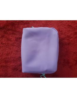 H21  PHIL (Preorder) Design Me Cosmetic/Makeup Bag Purple with Aqua Zipper
