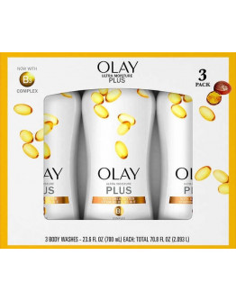 H21 PHIL (Preorder) Olay Ultra Moisture Plus Body Wash 23.6 oz, 3-pack