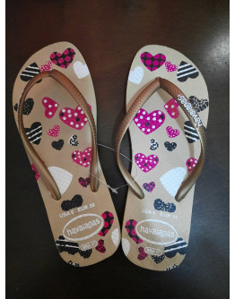 HAVAIANAS SLIPPERS SIZE 38/39