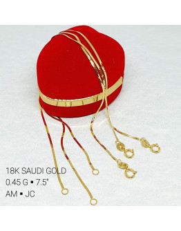 Bracelet Lightweight 18k Saudi Gold